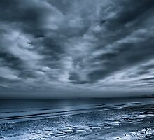 Sky sea and sand by David Hall