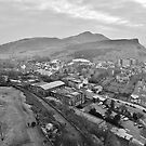 Arthur's Seat from Calton Hill by Mark  Johnstone