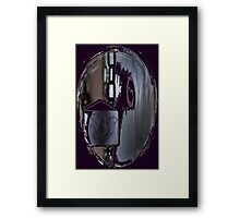 'And From My Soul Comes The Darkness' ~ Pore Space Inkling No 1 Framed Print