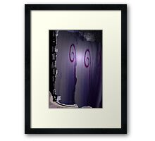 'And From My Soul Comes The Darkness' ~ Pore Space Inkling No 7 Framed Print