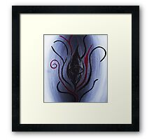 'And From My Soul Comes The Darkness' ~ Pore Space Inkling No 9 Framed Print