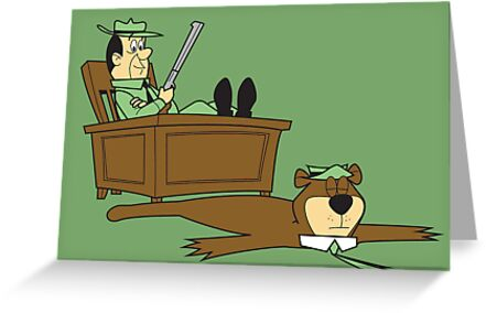Yogi Bear rug by Scott Weston