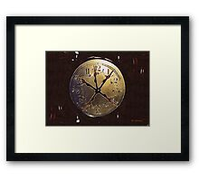 The Crucifixion of Time Framed Print