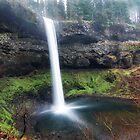 South Falls #3 by Jennifer Hulbert-Hortman
