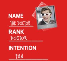 Name, Rank, Intention Kids Clothes