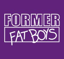 Former Fat Boys Logo Tee - White Logo by formerfatboys
