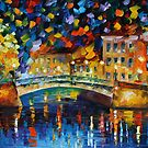 MAGICAL BRIDGE - LEONID AFREMOV by Leonid  Afremov