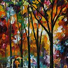 THE SPECTRUM OF THE RAIN - LEONID AFREMOV by Leonid  Afremov