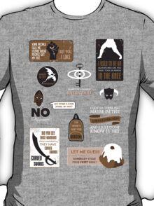 Winterhold to Whiterun T-Shirt