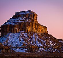 Fajada Butte in Chaco Canyon by cavaroc