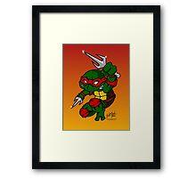Raphael Teenage Mutant Ninja Turtle Framed Print