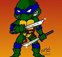 Leonardo Teenage Mutant Ninja Turtles by EdMedArt