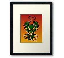 Michaelangelo Teenage Mutant Ninja Turtles Framed Print