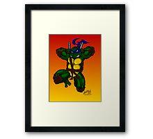 Leonardo Teenage Mutant Ninja Turtles Framed Print