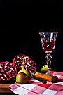 ~ still life with pomegranate ~ by Adriana Glackin