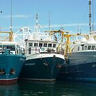 Fremantle Fishing Boats by TAlcorn
