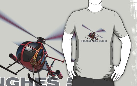 "Hughes 500 ""Little Bird"" by MarkSeb"