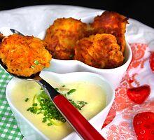 Leek Soup With Carrots-Potatoe-Rösti by SmoothBreeze7