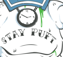 Stay Puft like a mofo Sticker