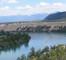 The Big Bend - Flathead River by PKBerry