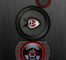 SPEAKER IPHONE CASE 3 by ALIANATOR
