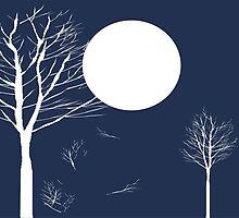 Full Moon Night by Nhan Ngo