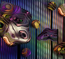 Mysteries of the Carnival (VIEW LARGE) by deborah zaragoza
