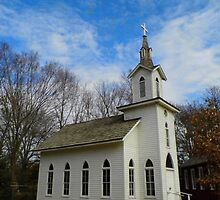 Lutheran Church Replica by WildestArt