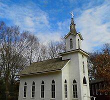 Lutheran Church Replica by WildestArt