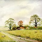 Country lane  by Neil Jones