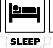 Eat Sleep Avada Kedavra Sticker