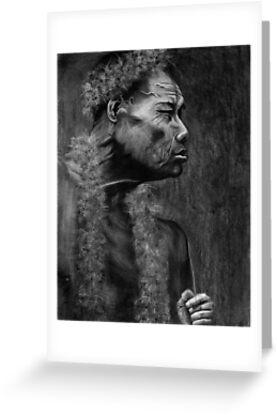 Pohnpeian Elder - Pohnpei Island, Micronesia by Yvonne C. Neth
