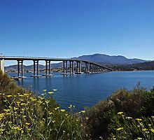 The Tasman Bridge by Glenn Bumford