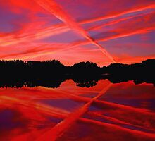 Graphic Display of Water Vapor by Tim Scullion