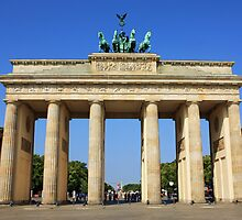 Brandenburg Gate Berlin by anfa77