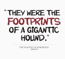 """They were the footprints of a gigantic hound."" by jasberrypie"