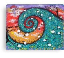 Bo Peep Daydreams Canvas Print