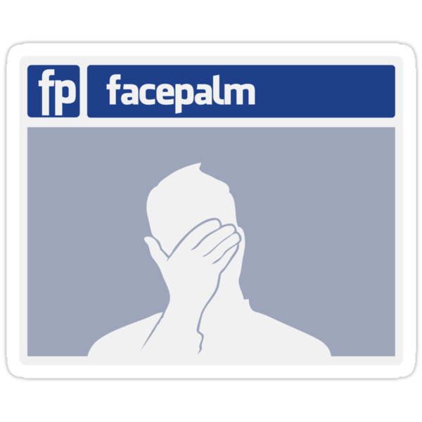 Facepalm by anfa