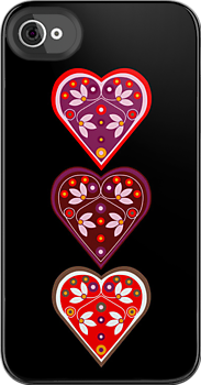 Folk Hearts by venitakidwai1