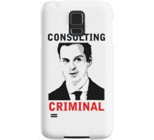 Consulting Criminal Samsung Galaxy Case/Skin