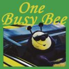 T-Shirts - One Busy Bee by Doty