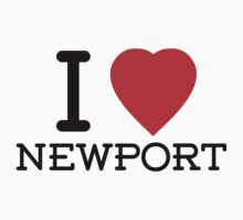 I Love Newport by Tim Topping