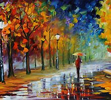 FALL MARATHON - LEONID AFREMOV by Leonid  Afremov