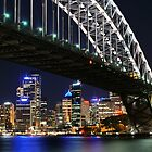 Sydney Night Lights by Ross Campbell
