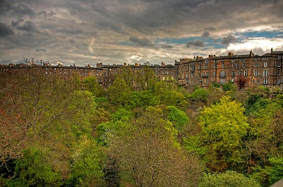 Town Houses of Edinburgh by Tom Gomez