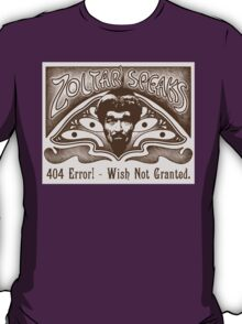 Zoltar Speaks T-Shirt
