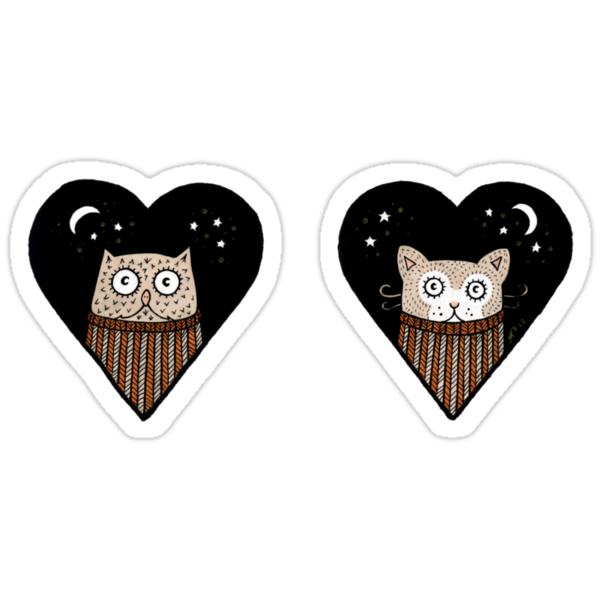 Quirky Love Tee by Anita Inverarity