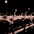 Albert Bridge Lights, Belfast by Chris Millar