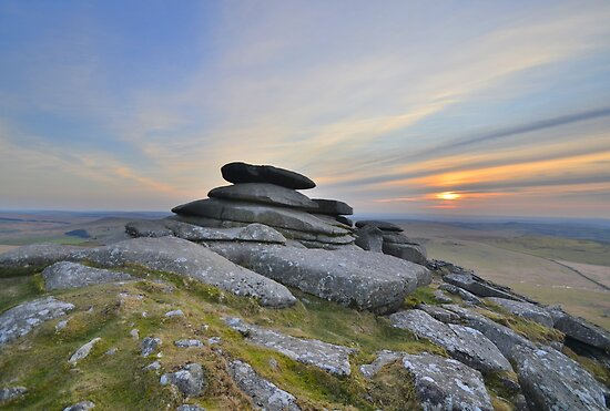 Cornwall: Outcrop on Roughtor by Rob Parsons