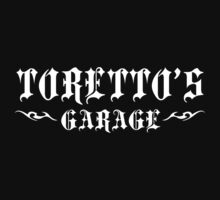 Toretto's Garage White by waywardtees